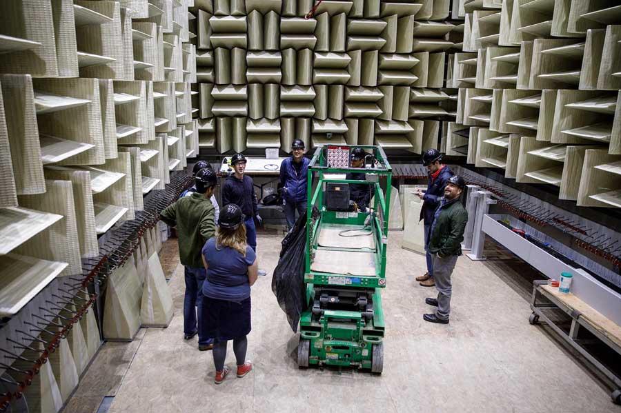 Строительство второй безэховой камеры