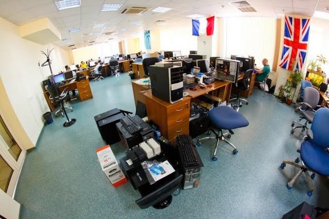 Офис компании DataArt